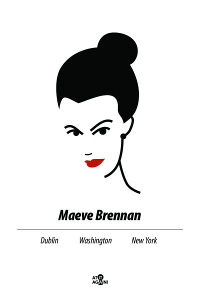 A3 Maeve Brennan Print by At it Again!