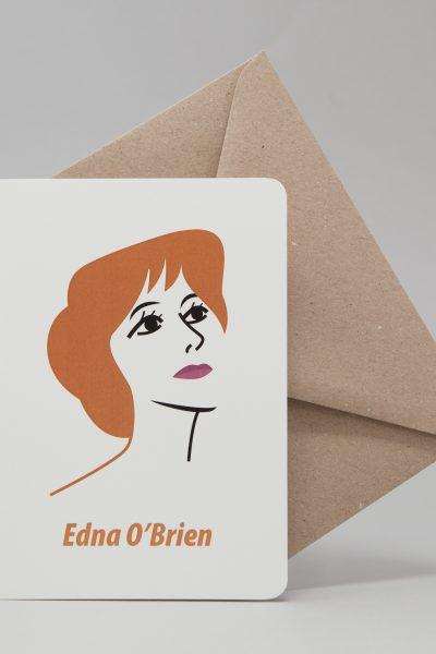 Edna O'Brien Greeting Card