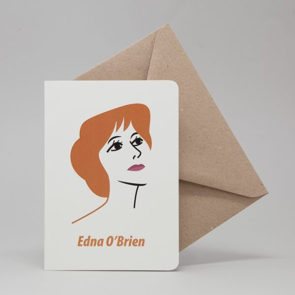 Edna O'Brien Greeting Card