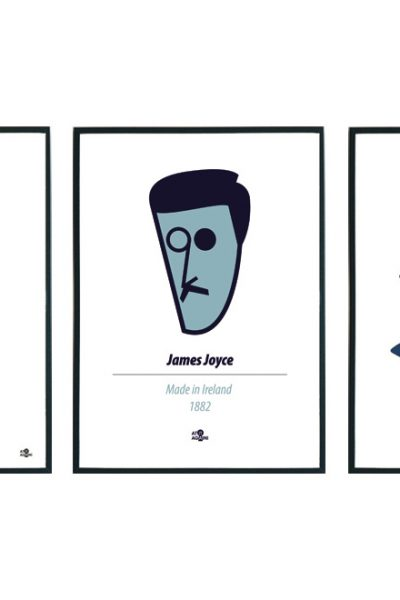 James Joyce Print Set by At it Again!