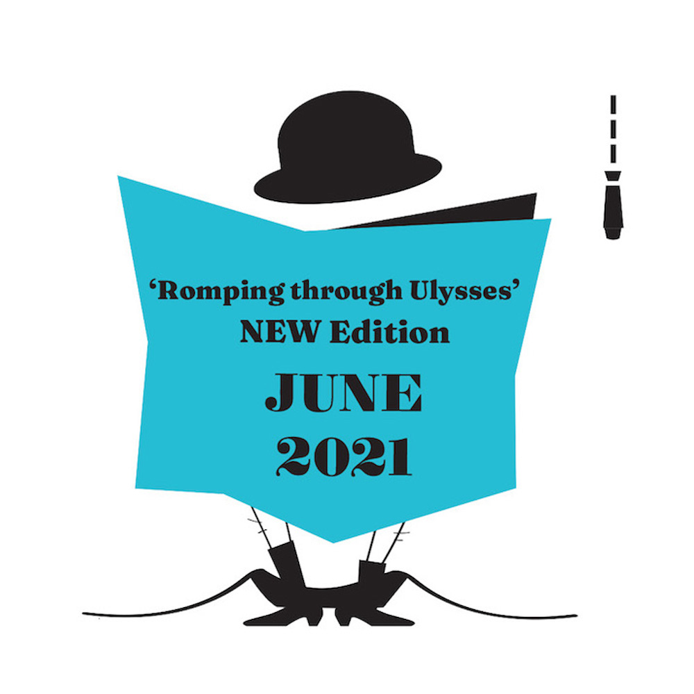 New edition of Romping through Ulysses by At it Again! coming June 2021